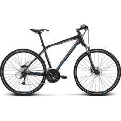 "2018 KROSS 28"" EVADO 6 vel.23"" - black/blue matt"