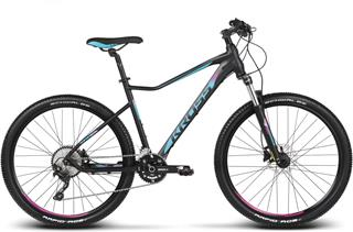 "2018 KROSS 27,5"" LEA 8 vel.15"" - black/blue/pink matt"