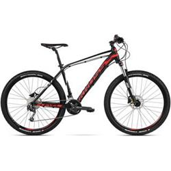 "2018 KROSS 29"" LEVEL 4.0 vel.21"" - black/red/white matt"