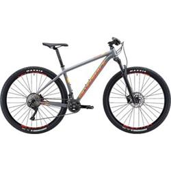 "29"" SILVERBACK 2019 Spectra Elite - 22""/XL - granite grey/ summer orange/ hot red"