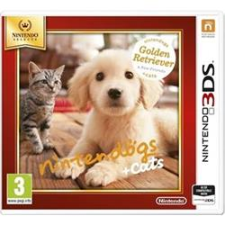 3DS Nintendogs+Cats-Golden Retr&new Friends Select