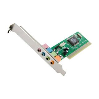 4World Sound card C-Media CMI8738, 4-kanál, PCI