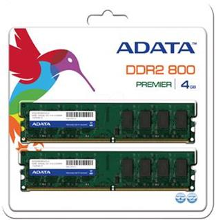 Adata DDR2 4GB (Kit 2x2GB) 800MHz CL5
