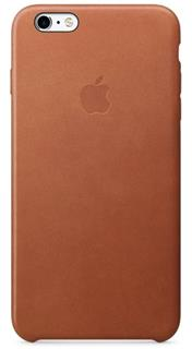 APPLE iPhone 6S Leather Case - Saddle Brown (mkxt2zm/a)