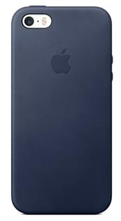 APPLE iPhone SE Leather Case - Midnight Blue (mmhg2zm/a)