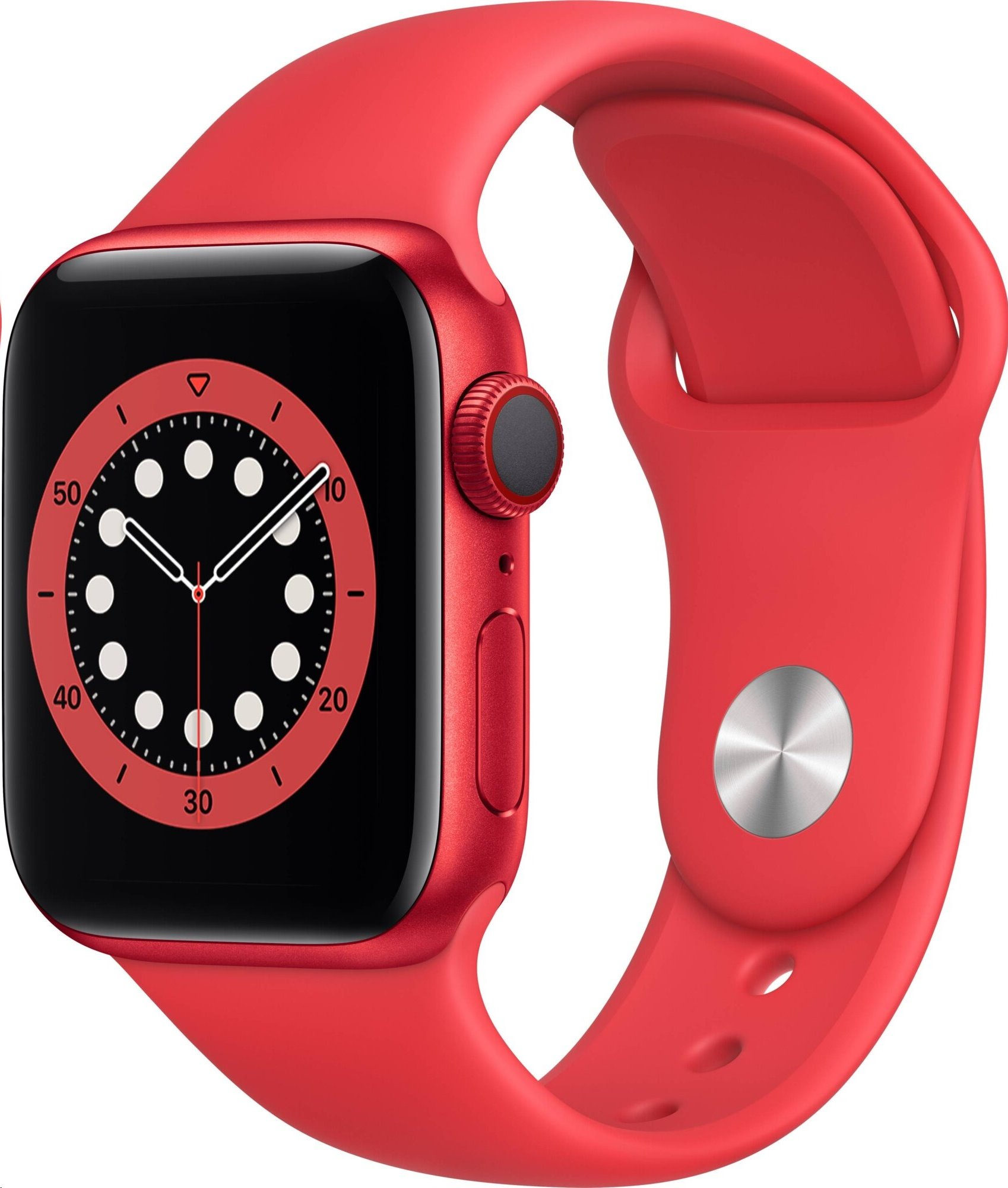 APPLE Watch Series 6 GPS+Cellular,40mm (PRODUCT)RED Aluminium Case with (PRODUCT)RED Sport Band