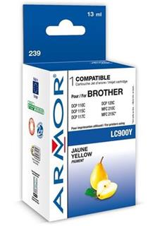 ARMOR cartridge pro BROTHER DCP-110/115 Yellow (LC-900Y) - alternativní