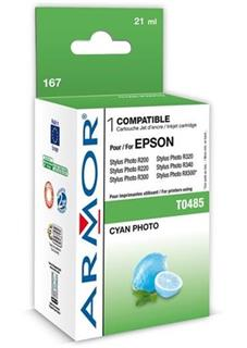 ARMOR cartridge pro EPSON Stylus Photo R200/R300/RX500/RX600 photo cyan (T048540) - alternativní