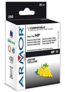 ARMOR cartridge pro HP 11 Officejet 9110/9120/9130 yellow (C4838A) - alternativní