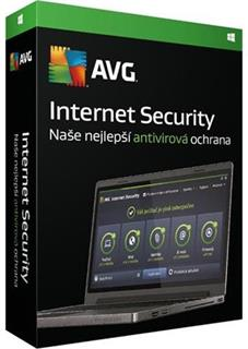 AVG Internet Security 3 lic. 3 roky, DVD, ISCEN36DCZS003