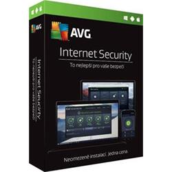 AVG Internet Security Unlimited, 1 rok, elektronicky