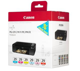 Canon PGI-29 CMY/PC/PM/R Multi pack