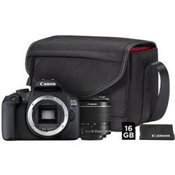 CANON zrcadlovka EOS 2000D + 18-55mm DC Value Up Kit