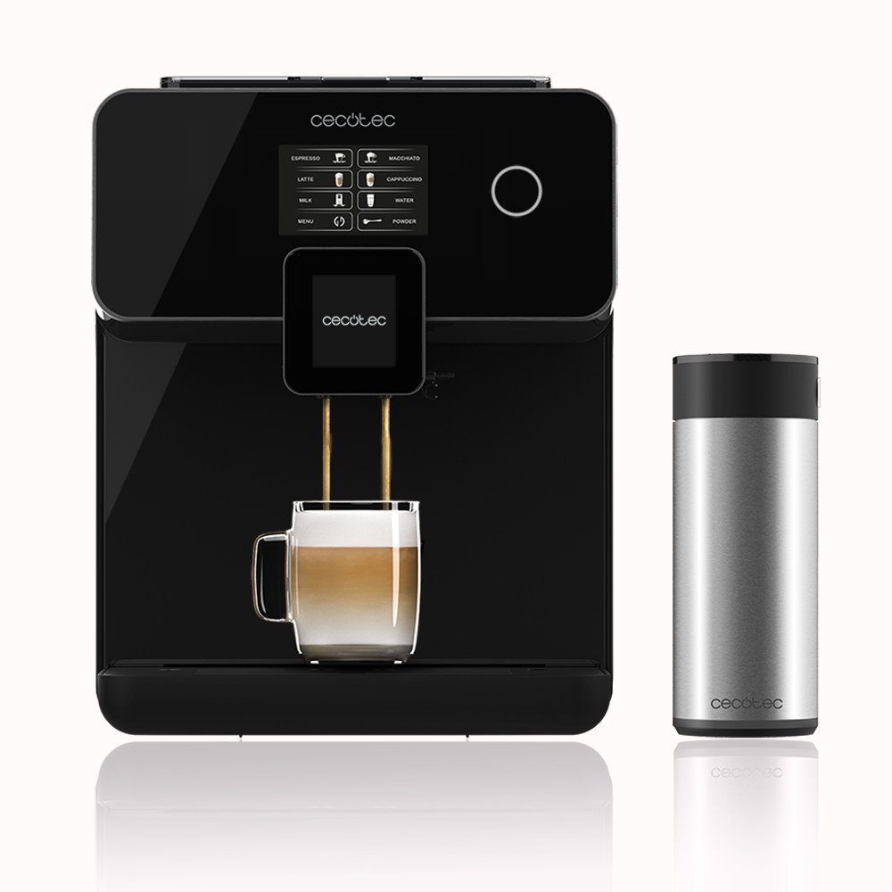 Cecotec Power Matic-ccino 8000 Touch Serie Nera