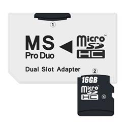 Connect IT CI-1138 Adapter MS PRO DUO 2x Micro SDHC DUAL SLOT