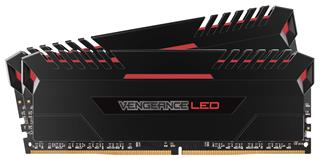 Corsair Vengeance LED DDR4 16GB (2x8GB) 3200MHz CL16 Red