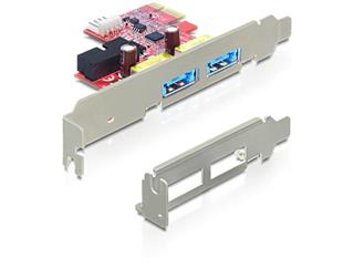 Delock PCI Express >2 x Multiport USB 3.0 + eSATAp