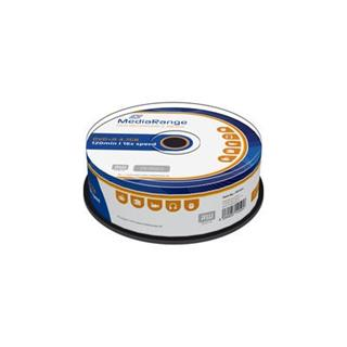 DVD+R MediaRange 4,7GB 16x spindl (25pack)