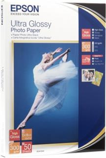 Epson Paper Ultra Glossy Photo 13x18 (50 listů), 300g/m2