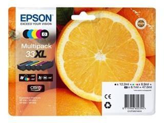 Epson T3357 Multipack 5-barevná 33XL - originál