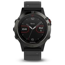 Garmin Fenix5 Gray Optic Black band
