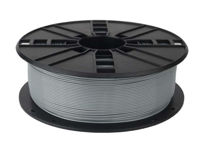 Gembird filament PLA 1.75mm 1kg, šedá
