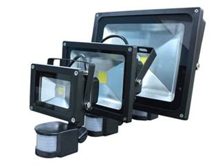 GREEN LIGHTS LED reflektor s PIR 20W 3250K IP65