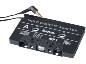 HAMA CD/MD/MP3 adaptér Auto set (bez zdroje) (46088)