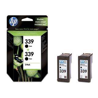 HP 339 Black 2-pack C9504EE