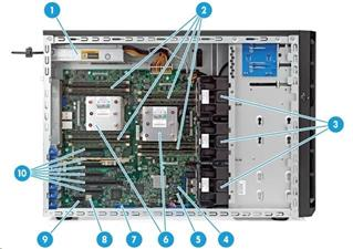 HP ML150 Gen9 E5-2609v4 (834614-425)