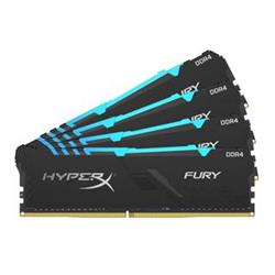 HyperX FURY DDR4 32GB (Kit 4x8GB) 2400MHz CL15 SR x8 RGB