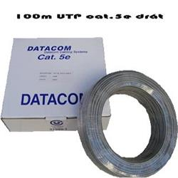 KABEL DATACOM UTP drát cat.5e - Box 100m