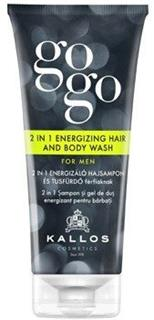 Kallos Gogo 2in1 Energizing Hair And Body Wash For Men 200ml