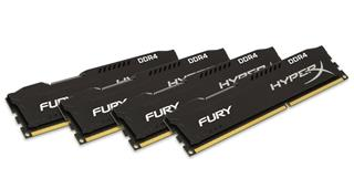 Kingston HyperX Fury 16GB (Kit 4x4GB) 2400MHz DDR4 CL15, černý chladič