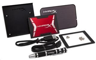 Kingston HyperX Savage SSD disk 120GB (SHSS3B7A/120G) kit