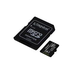 KINGSTON micro SDXC 128GB Canvas Select Plus A1 C10 Card (rychlost až 100 MB/s) + SD adaptér