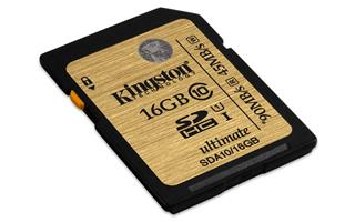 Kingston SDA10/16GB Ultimate SDHC class 10, 90MB/s, UHS-1 , dozivotni zaruka