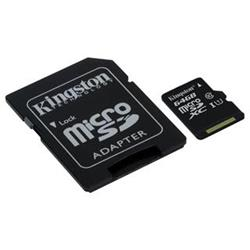 Kingston SDC10G2/64GB MicroSDXC class 10, 45MB/s,  UHS-1, dozivotni zaruka  + SD adaptér