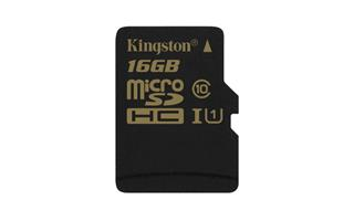 Kingston SDCA10/16GB Ultimate Micro SDHC class 10, 90MB/s, UHS-1, dozivotni zaruka + SD adaptér