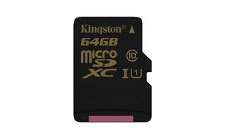 Kingston SDCA10/64GBSP Ultimate Micro SDXC class 10, 90MB/s, UHS-1, dozivotni zaruka