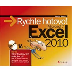 Kniha Microsoft Excel 2010 - Rychle hotovo!
