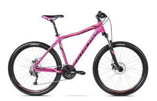 "Kross 16 Lea R4 27,5"" M fuchsia/black/orange matt"