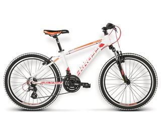 "Kross 16 Level Replica 24"" white/red/orange glossy"