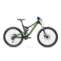 "Kross 16 Moon 1.0 27,5"" L black/green matt"