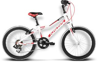 "Kross 2017 20"" Hexagon mini white/red/black glossy"