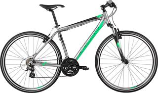 "Kross 2017 28"" Evado 1.0 L/21"" graphite/green matt"