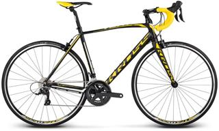 "Kross 2017 28"" Vento 3.0 M/530mm black/yellow/white matt"