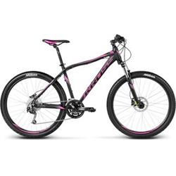 "Kross 2017 Lea R6 M/19"" black/graphite/fuchsia matt"