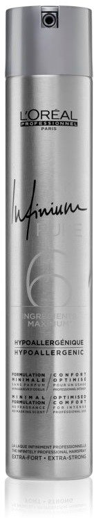 L'Oréal Professionnel Infinium Pure Extra-Strong Hairspray 500ml