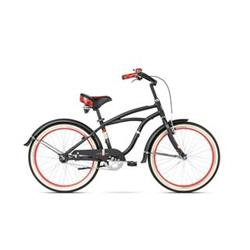 "LeGrand 16 Bowman JR 24"" Cruiser black/red matt"